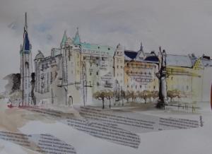 façades de Stockholm