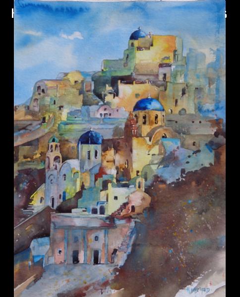 ville grecque portrait